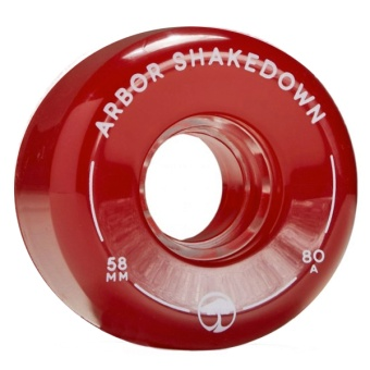 Arbor 58mm 80A Shakedown Vintage Red