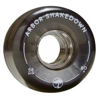 Arbor 58mm 80A Shakedown Ghost Black