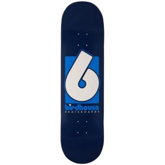 Birdhouse 8.375 Blue Logo Deck