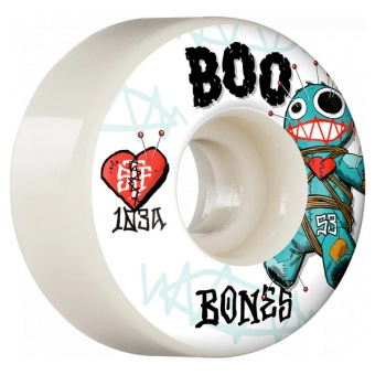 Bones 53mm 103A V4 Wide STF Boo Woodoo