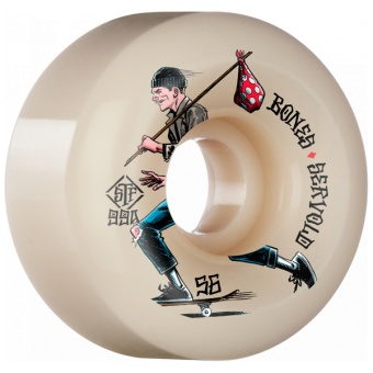 Bones 56mm 99A V6 Wide STF Gone Skating