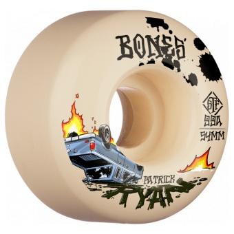 Bones 54mm 99A V4 Wide STF Crash & Burn
