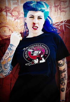 The Royal Brass Knuckle Harlots t-shirt