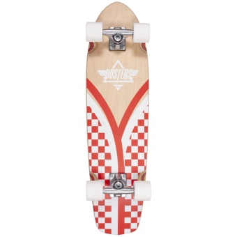 "Dusters 31"" Flashback Checker Cruiser Skateboard"