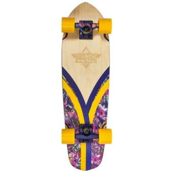 "Dusters 28"" Flashback Tripycal Cruiser Skateboard"