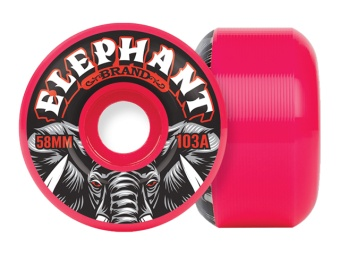 Elephant 58mm Pool Wheels 103A Pink
