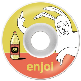 Enjoi 55mm Tourettes 99A wheels