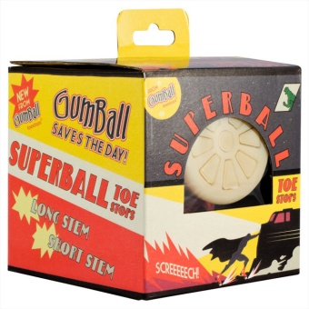 "Gumball ""Superball"" Toe Stops"