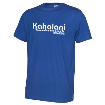 Kahalani t-shirt logo Royal