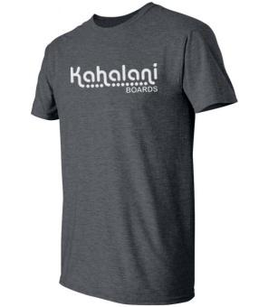 Kahalani t-shirt logo Dark Heather