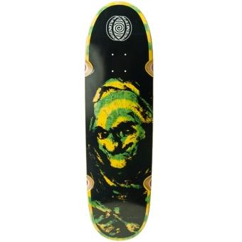 MAD 9.0 Grim Green Swirl R7 Skateboard