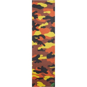 MOB Camo Orange griptape Sheet