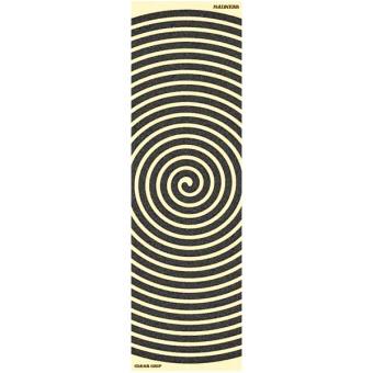 """Mad Swirl clear 10"""" griptape sheet"""