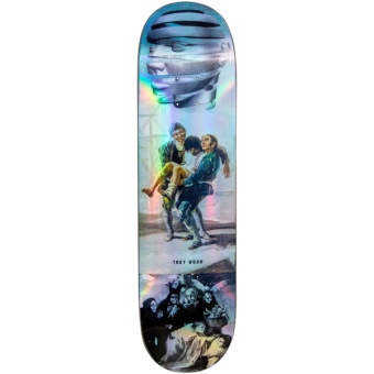 MAD 8.25 Trey Blackout Holographic R7 deck
