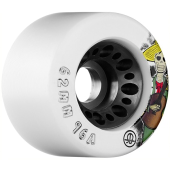 Rollerbones 62mm, 96A (White)