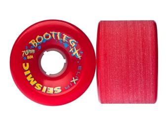 Seismic 70mm, 80A Bootleg (Röd)
