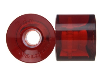 Seismic 68mm 78A Avalon Clear Red