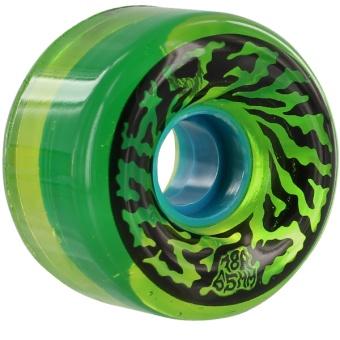 SC Swirly Trans Green 65mm 78A