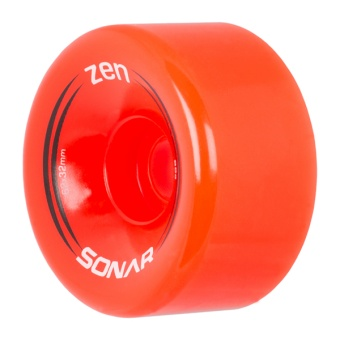 Sonar Zen 62mm 85A Red Wheels