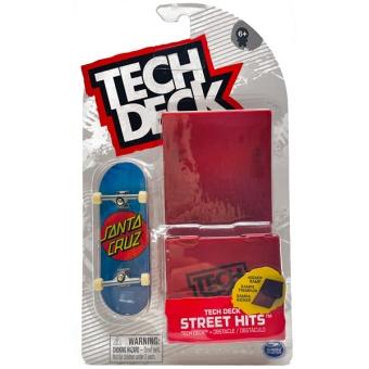 Tech Deck Street Hits Kicker Ramp