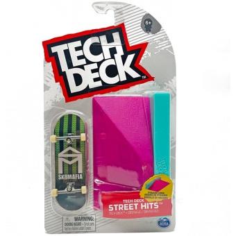 Tech Deck Street Hits Pyramid ledge