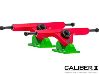 Caliber II trucks 184mm 44° Acid Melon