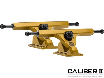 Caliber II trucks 184mm 50° Liam Morgan