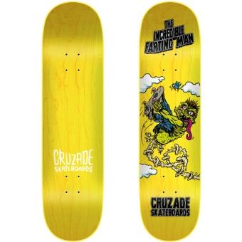 Cruzade 8.0 The Incredible Farting Man deck