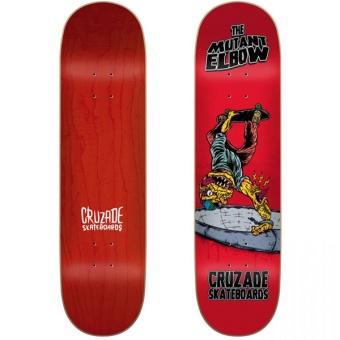 Cruzade 8.25 Mutant Elbow Skateboard