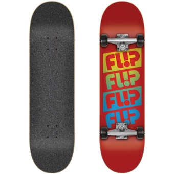 Flip 7.88 Team Quattro Red Komplett