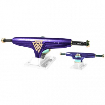 "Iron trucks 5.25"" Purple high"