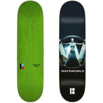 PlanB 8.25 Way Waysworld deck