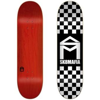 Sk8mafia 8.0 House Logo Checker deck