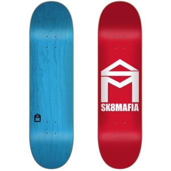 Sk8mafia 8.0 House Logo Red deck