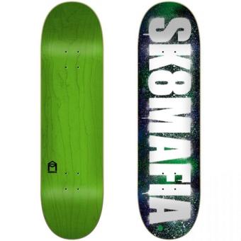 Sk8Mafia 8.0 OG Logo Stencil skateboard