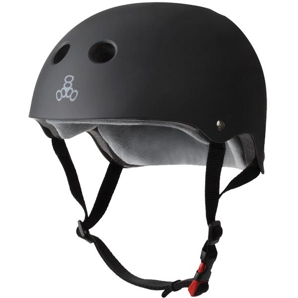 Triple 8 Helmet Certified Sweatsaver Black