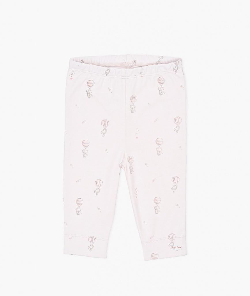 Flying Elephants Leggings Pink