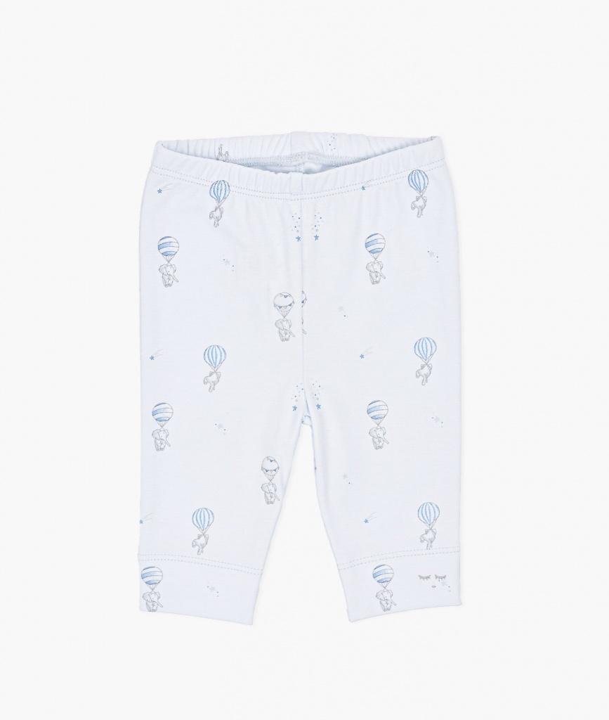 Flying Elephants Leggings Blue