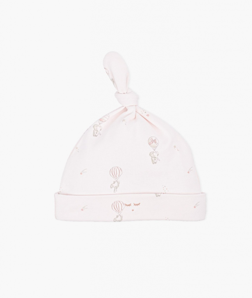 Flying Elephants Tossie hat pink