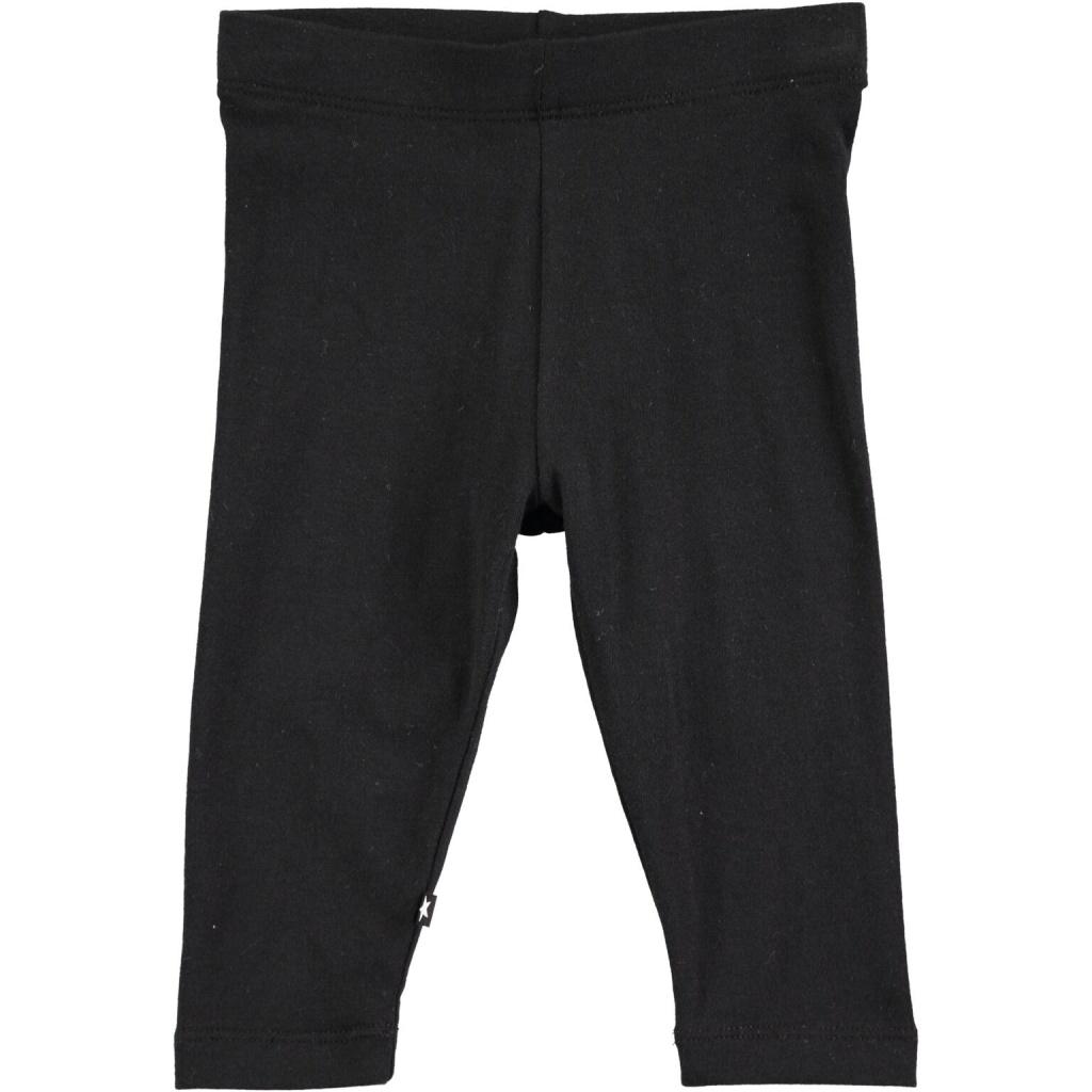 Nette Solid Leggings Black