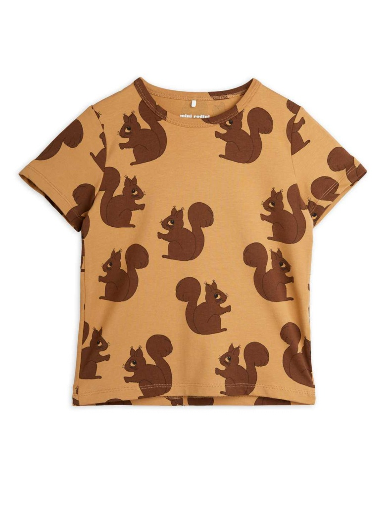 Squirrel aop ss tee Brown - Chapter 2