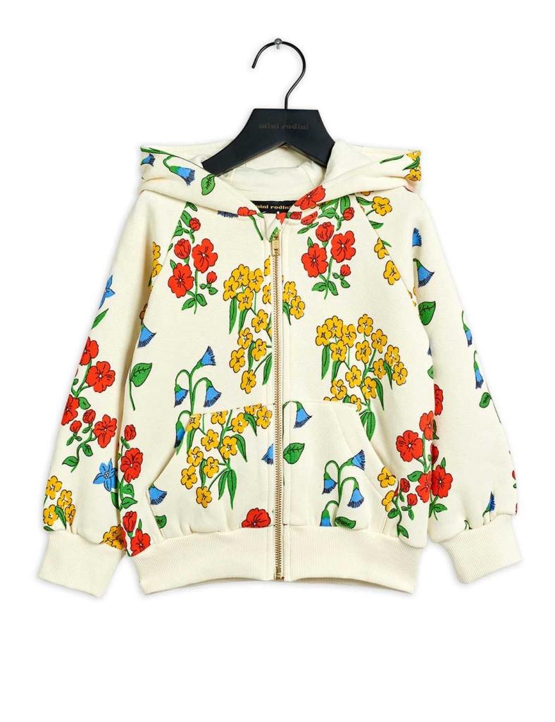 Snow flowers aop zip hoodie offwhite - Chapter 3