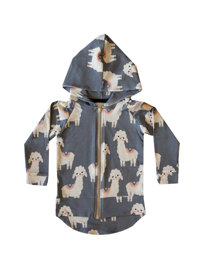 Lama Hoddie Grey