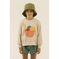 ICE CREAM SWEATSHIRT pastel pink/light papaya
