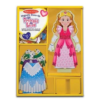 Magnetdocka Prinsessan Elise
