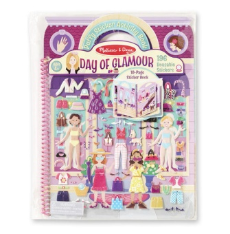 Puffy Sticker Album - Day of Glamour