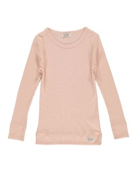 Plain Tee LS Blush