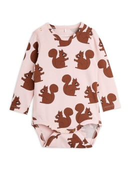 Squirrels aop ls body Pink - Chapter 2