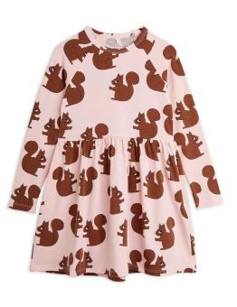 Squirrel aop ls dress Pink - Chapter 2