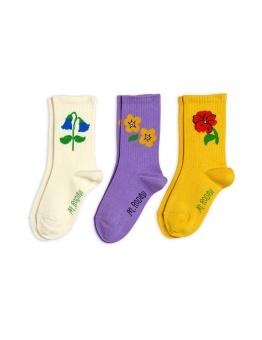 Snow flowers socks 3-pack Multi- Chapter 3